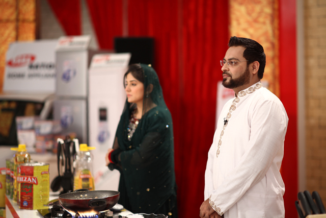 Dr Aamir with Sanam Baloch