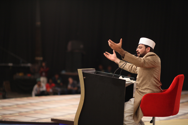 Reciting  Naat at 27th Night