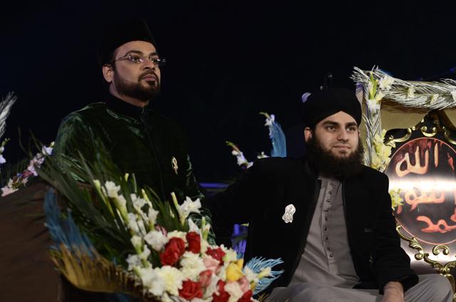 With Ahmad Raza
