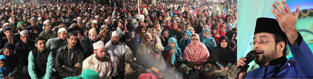 Aamir Liaquat Delivered Speech To The Grand Congregation At 'Jashn-e-Subh-e-Bahara', Arranged By Geo TV Networks