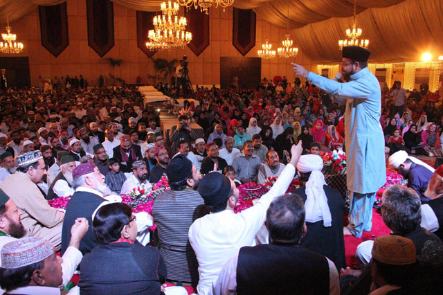 Dr Aamir Liaquat Husain Adressed The Masses At The Event Organized By International Naat Council